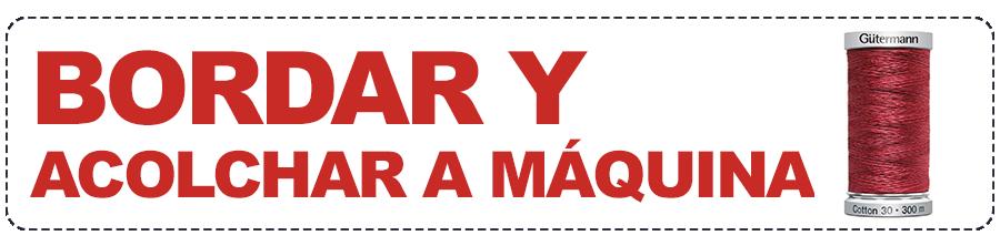 HILO PARA BORDAR Y ACOLCHAR A MAQUINA